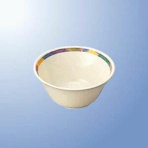 学校給食向け メラミン ジオライン 12cmボール (120×55mm・320cc) マルケイ[J12GL] 業務用 プラスチック製 保育園・小学校 子供(学生)用食器