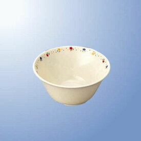 学校給食向け メラミン プチフラワー 12cmボール (120×55mm・320cc) マルケイ[J12PF] 業務用 プラスチック製 保育園・小学校 子供(学生)用食器