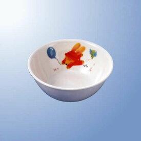 メラミン子供用食器 スイートラビット 中食器 (140×51mm・430cc) マルケイ[J1SR] 業務用 プラスチック製 保育園・幼稚園向け