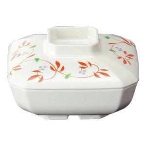 メラミン 角煮物碗 小 130X130mm H45mm 420cc 身(ふたは別売り) アイボリー[B28BIWC] マルケイ 業務用 食洗機対応 割れにくい 丈夫 業務用 プラスチック 樹脂 食器 皿 D8