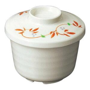 メラミン むし碗 小 直径89mm H23mm ふた(商品はふたのみ) 紅からくさ[B9CBKK] マルケイ 業務用 食洗機対応 割れにくい 丈夫 業務用 プラスチック 樹脂 食器 皿 D8