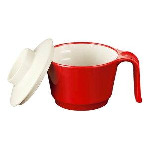 メラミン ユニマグカップ 123X95mm H63mm 265cc レッド・C ミナモヴィータ[C47RD] マルケイ 業務用 食洗機対応 割れにくい 丈夫 業務用 プラスチック 樹脂 食器 D8