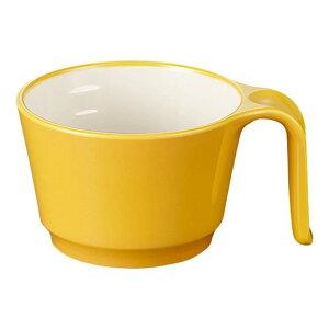 メラミン ユニマグカップ 123X95mm H63mm 265cc イエロー・C ミナモヴィータ[C47YD] マルケイ 業務用 食洗機対応 割れにくい 丈夫 業務用 プラスチック 樹脂 食器 D8