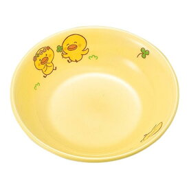 メラミン 10cm 丸深皿 直径100mm H28mm 110cc イエローひよこぐみ[D63HIY] マルケイ 業務用 食洗機対応 割れにくい 丈夫 業務用 プラスチック 樹脂 食器 皿 D8