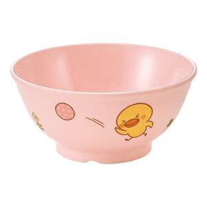 メラミン 飯茶碗 小 直径104mm H48mm 210cc ピンクひよこぐみ[J30HIP] マルケイ 業務用 食洗機対応 割れにくい 丈夫 業務用 プラスチック 樹脂 食器 皿 D8