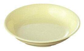 PP製・プラスチック製 信濃化学・SHINCA 業務用食器 給食・食堂 無地食器 ポリプロウェア 漬物皿(91×18) [308-yellow]□D8□