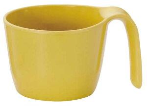 メラミン製・プラスチック製 信濃化学・SHINCA 業務用食器 介護・自助食器 カラーシリーズ UDカップ(92×120×72 290ml) きはだ [972-kihada]□D8□
