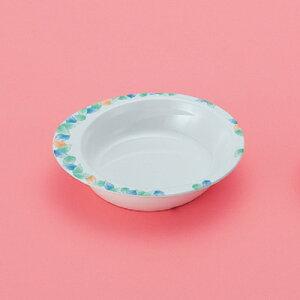 メラミン製 自助食器 小鉢 中皿(デュオ) スリーライン[M-351AID] 食器 皿 ユニバーサルデザイン 介護用 病院 福祉 プラスチック製