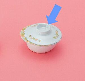 メラミン製 自助食器 小鉢 小(フェロー)用ふた ※ふたのみ スリーライン[M-353FAIF] 食器 皿 ユニバーサルデザイン 介護用 病院 福祉 プラスチック製