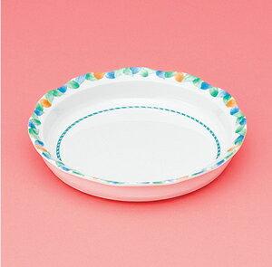 メラミン製 介護 自助食器 デュオ 18cm深皿 スリーライン[AID-111] 食器 介護用 自助用 プラスチック製 皿 プレート 器 病院・施設
