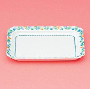 メラミン製 介護 自助食器 デュオ 角皿 スリーライン[AID-121] 食器 介護用 自助用 プラスチック製 皿 プレート 器 病院・施設