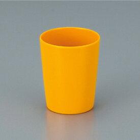 【メラミン製】ミルクカップ(黄) 250cc スリーライン[137-CY]【食器 プラスチック製 コップ 定番 安い シンプル 業務用】