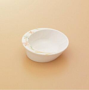 メラミン製 自助食器 小鉢(可憐花) スリーライン[M-357B] 食器 皿 ユニバーサルデザイン 介護用 病院 福祉 プラスチック製