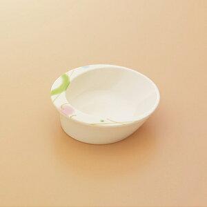 メラミン製 自助食器 小鉢(ブリーズ) スリーライン[M-347BZ] 食器 皿 ユニバーサルデザイン 介護用 病院 福祉 プラスチック製