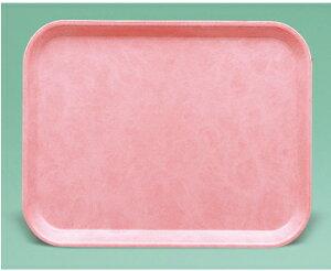【FRP製】ストロングトレイ 長角トレイ(ローズピンク)(440×330×20) スリーライン[ST-3344RP]【業務用トレー お盆 お膳 プラスチック製 定番】