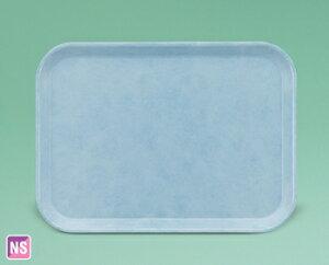 【FRP製/ノンスリップ】ストロングトレイ 長角トレイ(ブルー)(436×325×20)スリーライン[STN-3344B]【業務用トレー お盆 お膳 プラスチック製 滑らない】