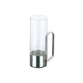 耐熱ガラスだからホットもアイスもOK! (240cc) ホットグラスNo.2908 (耐熱ガラス使用) (7-2175-1001)