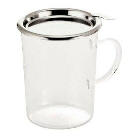 耐熱ガラスだからホットもアイスもOK! (260cc) ホットグラスNo.2666 (耐熱ガラス使用) (7-2175-0701)