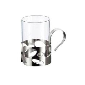 耐熱ガラスだからホットもアイスもOK! (220cc) ホットグラスNo.2924 (耐熱ガラス使用) (7-2175-0801)