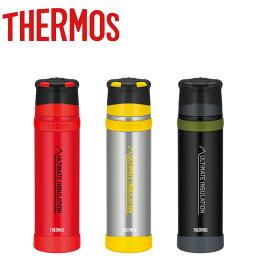THERMOS サーモス 900ml ステンレスボトル FFX-901 山専用ボトル コップ付き 大容量 軽量 保温 耐久性 アウトドア 登山 ハイキング