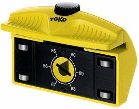 TOKO〔トコ〕 エッジチューナー プロ ローラー付き サイドエッジチューナー 角度90〜85°(1°刻み) スキー スノーボード スノボー メンテナンス メンテ用品 5549830