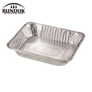 BUNDOK バンドック アルミBBQプレート 深型 M 2枚入り アウトドア キャンプ レジャー バーベキュー 皿 食器 BD-426