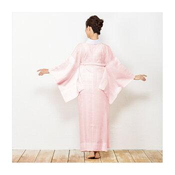 (長襦袢正絹白/ピンク)長襦袢正絹半襟付2colorsレディース女性半襟カラー着物衣紋抜き白留袖用S/M/M-1/L/L-1/LL
