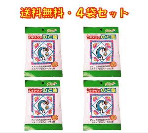 エキナケア のど飴 ノンシュガー 15粒入り ×4袋セット 松浦薬業 送料無料