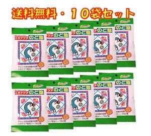 エキナケア のど飴 ノンシュガー 15粒入り ×10袋セット 松浦薬業 送料無料