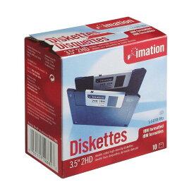 イメーション フロッピーディスク imation MF2HD 3.5型 10枚組 紙箱入り MF2HD10P