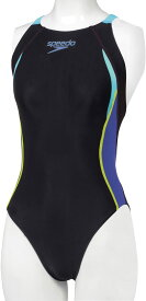 お買い物マラソン 9月 クーポン配布中 Speedo(スピード) レディース 競泳水着 ワンピース フレックスシグマ Wエイムカット4 FINA承認 SD47B45 Sサイズ 返品交換不可