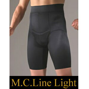 【SPUでポイント最大17倍】エムシーラインライト M.C.Line Light [男性用 補正下着 補整下着 補正インナー メンズガードル エムシーライン メンズ メタボ ウエスト ダイエット]
