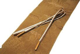 「正絹 夏物 絽」 贅沢な絞り入り 地紋入り 帯揚げ 帯締め セット
