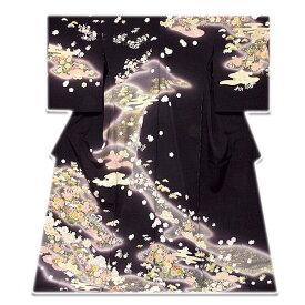 【手縫い仕立て付き フルオーダー】十日町 名門【吉澤の友禅】 日本の絹 丹後ちりめん 最高級 訪問着