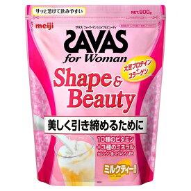 【土日も出荷】ザバス for Woman シェイプ&ビューティ ソイプロテイン ミルクティー風味 大豆 45食分 945g