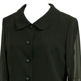 【礼服/喪服/ブラックフォーマル/夏物/スーツ】352(13号)