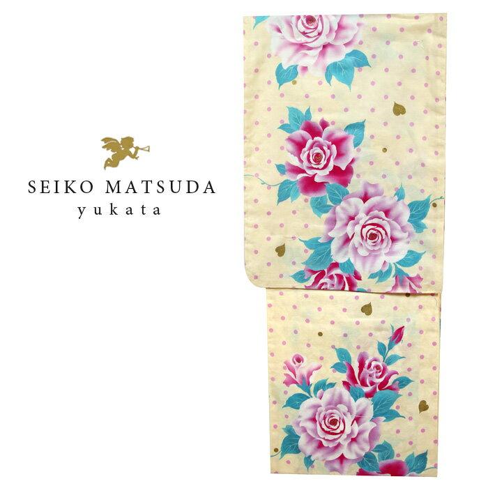 【浴衣】 レディース 女性┃ゆかた 松田聖子 浴衣 (4580 )