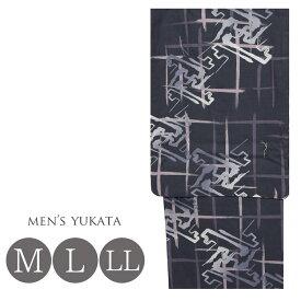 浴衣 メンズ 紳士 yukata ゆかた M/L/LLサイズ