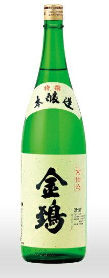 【ギフト 日本酒 焼酎】「京都の酒」金鵄 本醸造 1800mlキンシ正宗 京都府産