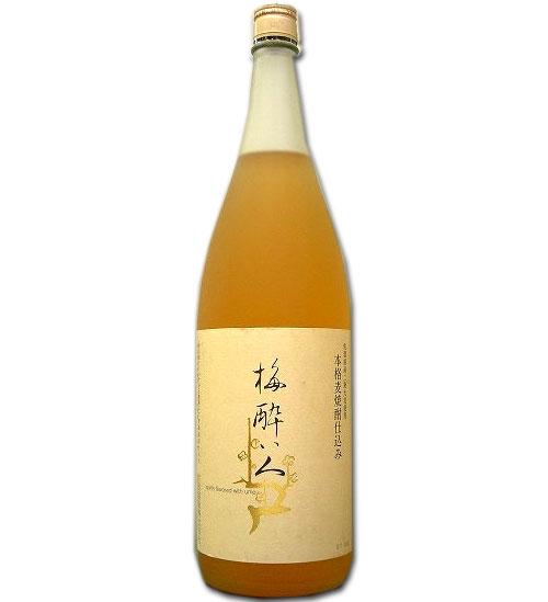 【ギフト 日本酒 焼酎】梅酔い人 720ml リキュール類 15度 宗政酒造 佐賀県産