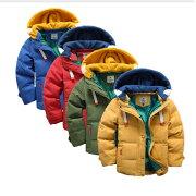 子供服男の子中綿コート中綿ジャケットキルティング韓国子供キッズ防寒ジャケット子供アウターファーコート暖かいかわいいキッズコート冬服綿入れコート長袖