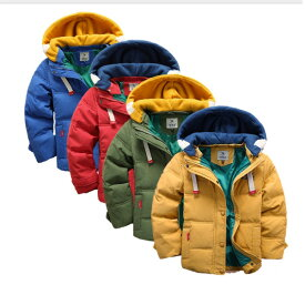 子供服 男の子 中綿コート 中綿ジャケット キルティング 韓国子供 キッズ 防寒 ジャケット 子供アウター ファーコート 暖かい かわいい キッズコート  冬服綿入れコート 長袖