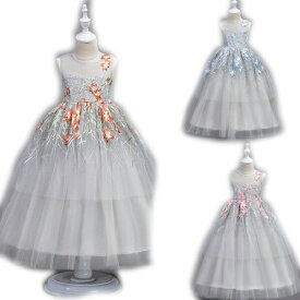 e3c6b8a041ac5 子供ドレス ピアノ発表会 ロング 子どもドレス フォーマル 七五三 ジュニアドレス 紫 シャンパン グレー 白