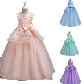 99c2fbc4e0893 子供ドレス ピアノ発表会 ロング 子どもドレス フォーマル 七五三 ジュニアドレス 紺 紫 シャンパン グレー
