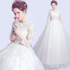 花嫁ドレス ウエディングドレス 披露宴二次会 気質チューブトップ Aライン ロングトレーン オフショルダー 白 ドレス ロングドレス 結婚式 お姫系