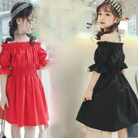 ad30ea391d7318 子供服 夏着 レインボー 半袖 ガータースカート 可愛いスタイル 韓国風 ビーチスカート ワンピース女の子