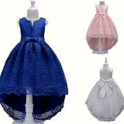 子供ドレスフォーマルピアノ発表会ドレス子どもドレス女の子ワンピースキッズダンス衣装コンクールセレモニードレス七五三結婚式レースドレスド