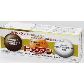 【指定第2類医薬品】 全薬工業 ドックマン 120錠
