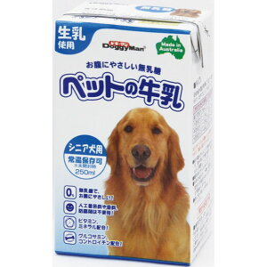 ドギーマンハヤシ ペットの牛乳 シニア犬用 250mL