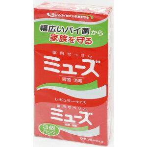 レキットベンキーザー・ジャパン ミューズ石鹸レギュラー 3個パック 95g×3
